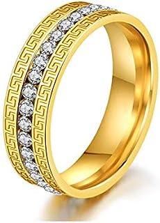 المرأة العظمى تصميم الجدار مكعب زركونيا الذهب الدائري لحفل الزفاف