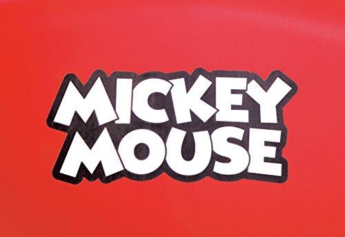 錦化成ベビーチェアミッキーマウスララチェアレッド