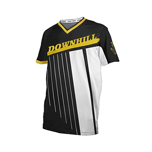 Uglyfrog+ 2019 Herren Mountainbike Downhill Freeride BMX Trikot Shirt Motocross Kurze Ärmel MTB/Downhill Cycling Jersey