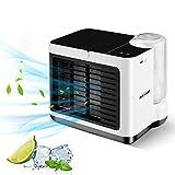 Mini Enfriador de Aire NASUM, Mini Aire Acondicionado Portátil, Enfriador de Aire USB, Refrigeración, Humidificación, Utilizado en Escritorios, Habitaciones, Oficinas