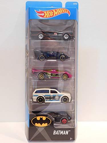 Hot Wheels 2017 Batman 5-Pack