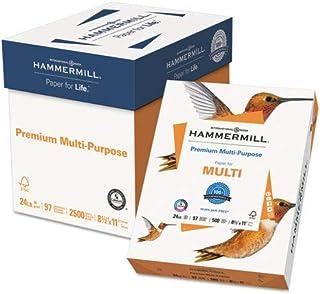 Premium Multipurpose Paper, 24lb, 8-1/2 x 11, White, 500/RM, 5 RM/CT