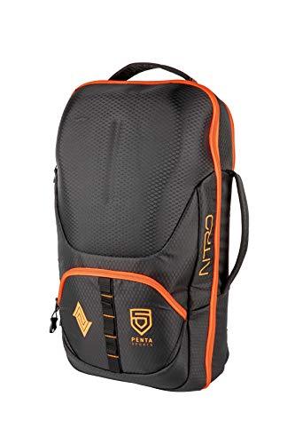 Nitro Gaming Backpack Esport Gamer Rucksack Laptoprucksack mit Fächern für Equipment Rucksack, 53 cm, 32 Liter, Penta Black