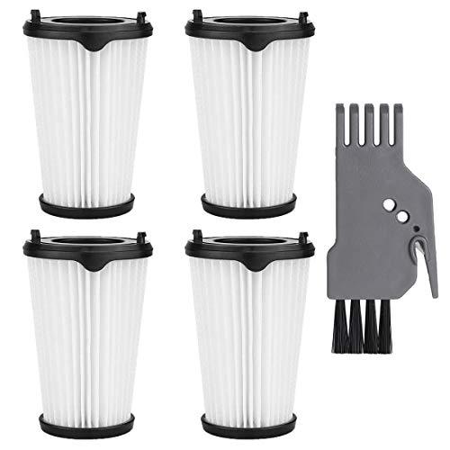 LAOYE 4 Stück CX7 Filter für AEG Ergorapido Staubsauger, Artikelnummer AEF150, Hepa-Filter Ersatzfilter Austauschfilter Kompatibel mit alle CX7-2 Modelle, inkl. ein Bürste - NICHT Original