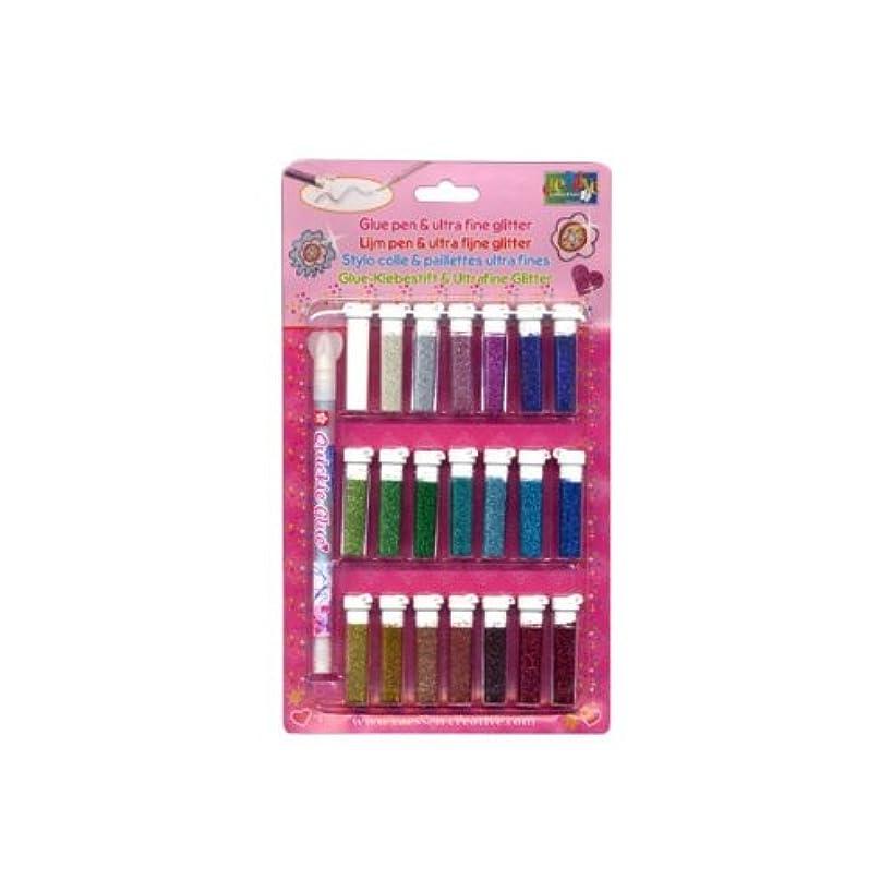 Vaessen Creative Glitter Glue, Multi-Colour