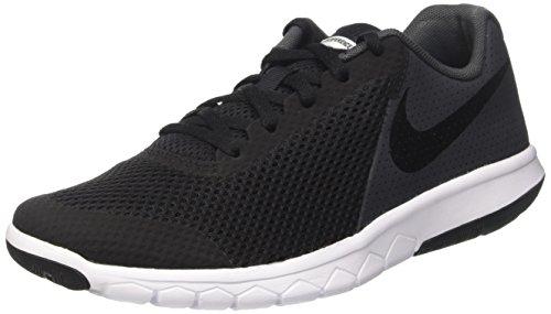 Nike Unisex-Kinder Flex Experience Laufschuhe, Schwarz (Black/Black/Anthracite/White), 38.5 EU