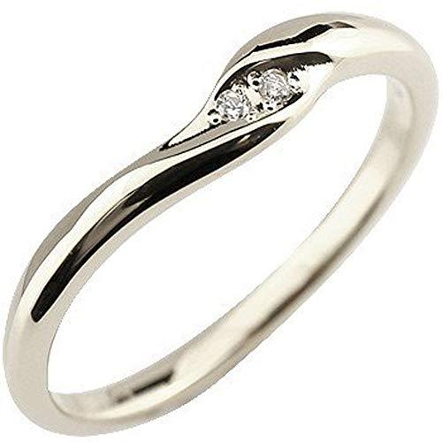 [アトラス]Atrus リング レディース sv925 スターリングシルバー ダイヤモンド 指輪 ピンキーリング 4号