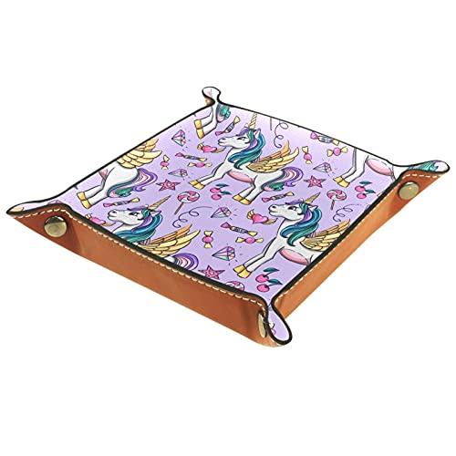 MUMIMI Bandeja de regalo para mujer, diseño de unicornio