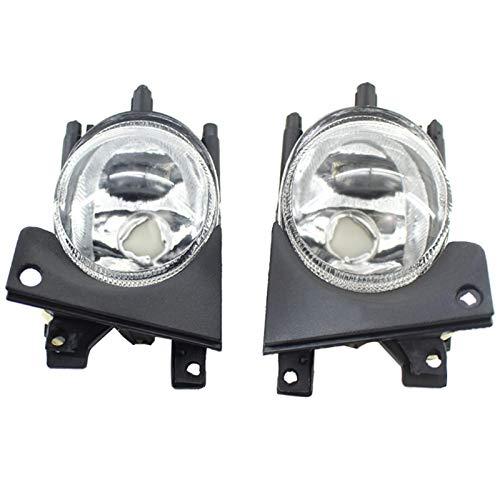 WOVELOT 1 Paar Nebelscheinwerfer vorne Links und rechts ohne Glühbirnen Ersatz für E39 1999-2004 Zubehör für Autos