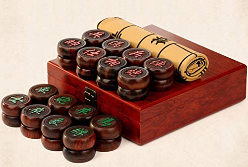 Chinese Chess Set Xiangqi Table Games Siam Rosewood Chessman Best Gift