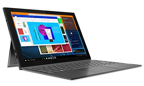 Lenovo IdeaPad Duet 3 - Tablet de 10.3' WUXGA (Intel Celeron N4020, 4 GB de RAM, Almacenamiento de 64 GB, Windows 10 en Modo S, WiFi+BT 5.0), Office 365, Gris - Teclado QWERTY Português