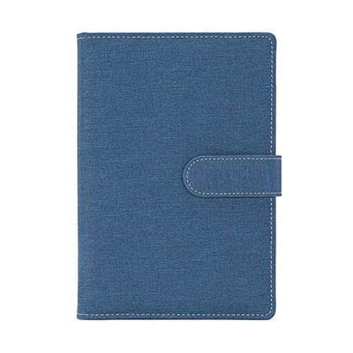 WYH Composition Business Notebook Business Schedule Este Plan Eficiencia Manual Management Notebook Office Notebook (Color: A)