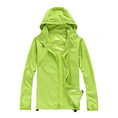 ZKOO Unisex Giacca in Softshell Sport Esterno Bicicletta Sun Protettivi Impermeabile Giacche Peso Leggero Sottile Softshell Jacke Uomo Donne