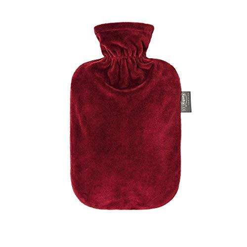 Fashy - Borraccia per acqua calda, 2,0 l, colore: Bordeaux