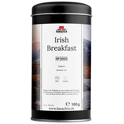 Hansefein Irish Breakfast Schwarzer Tee lose 100g in Aromadose