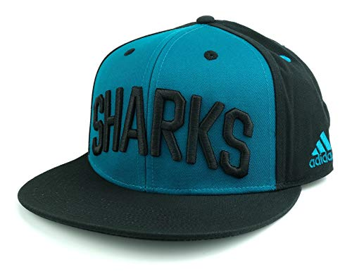 adidas Gorra azul con visera plana Sharks Senior