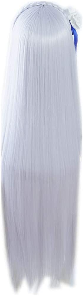 COSPLAZA Cosplay Luxury goods Wig Straight Long Max 60% OFF Purple Hall Synthetic Hair Lt