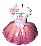 Peppa Party Birthday Dress 4TH Birthday Pink...