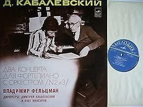 Dmitri Kabalevsky: Piano Concerto No. 2 in G Minor, Op. 23 ~ Piano Concerto No. 3 in D Major, Op. 50