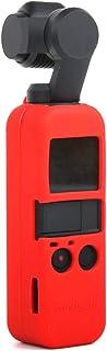 Tineer Funda Protectora de Silicona para Piel Cubierta para dji OSMO Pocket Handheld Gimbal Cámara Accesorio (Rojo)