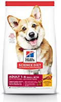 Hill's Science Diet Adult Small Bites Dry Dog Food, Chicken & Barley Recipe, 6.8kg bag