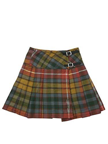 Womens 16.5 Inch Schotse Tartan Mini Kilt Rok