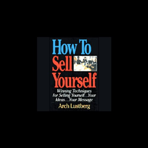 How to Sell Yourself audiobook cover art