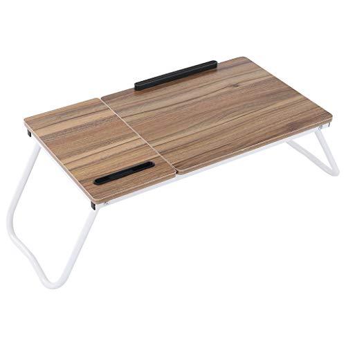 Foldable Laptop Desk for Home Office Desk,Free Installation Portable Folding Laptop Computer Desk Lazy Bed Desk Adjustable