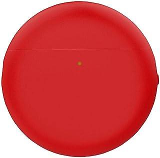 NIDONE Kompatybilny z Huawei Freebuds4 Sluchawki Silikonowe Sleeve Ochronne Red