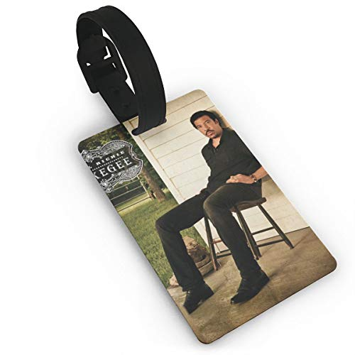 KOLODZIEJKIMM Lionel Richie Tuskegee Luggage Tags Suitcase Tags Bag Tag Travel ID Labels Tag White One Size