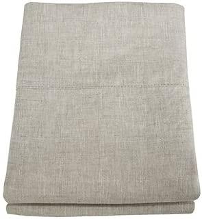 Linoto 100% Linen Pillowcases Natural Oatmeal 39x20, King