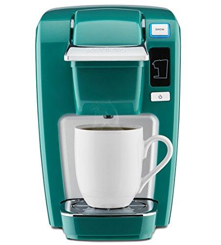 Keurig K15 Coffee Maker, Single Serve K-Cup Pod Coffee Brewer, 6 to 10 oz. Brew Sizes, Jade