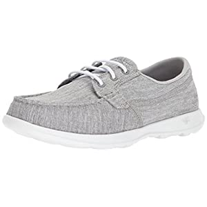 Skechers Women's Go Walk Lite-15433 Wide Boat Shoe