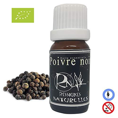 Aceite esencial de pimienta negra orgánica 10ml