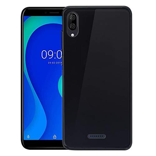 TBOC Schwarz Gel TPU Hülle für Wiko Y80 [5.99 Zoll] Ultradünn Flexibel Silikon Gehäuse für Handy