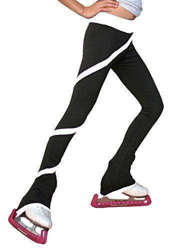 Chloe Noel P06 Skaterhose für Erwachsene, Größe M, Schwarz/Weiß
