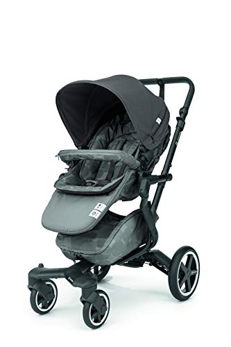 Concord Neo Plus - Silla de paseo plegable y multifuncional, Color Moonshine Grey
