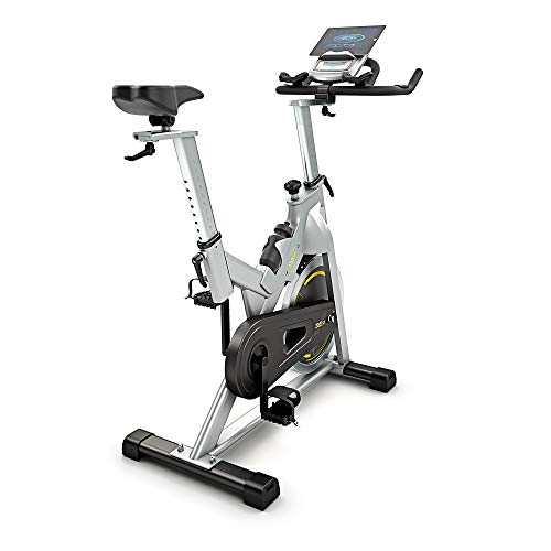 Bluefin Fitness Bicicleta Tour SP | Kinomap | Video Coaching y Entrenamiento | Bluetooth | App Smartphone/Negra y Plata Product ID: 716053151018