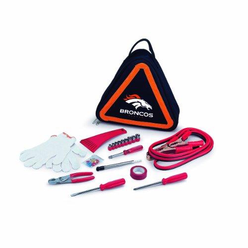 NFL Denver Broncos Kit de emergência para veículo de estrada