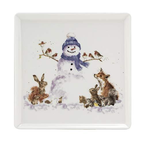 Portmeirion Home & Gifts WNQA4095-XG - Plato llano (cerámica)