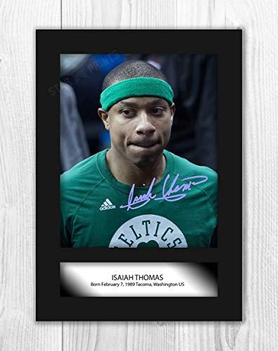 Good With Wood Yorkshire Póster de Isaiah Thomas (1) NBA Denver Nuggets (1 póster de la NBA sin marco)
