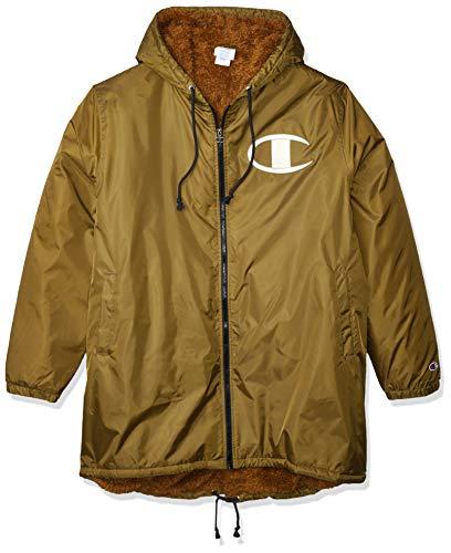 Champion LIFE Men's Sherpa Lined Stadium Jacket, Imperial Gold, Medium