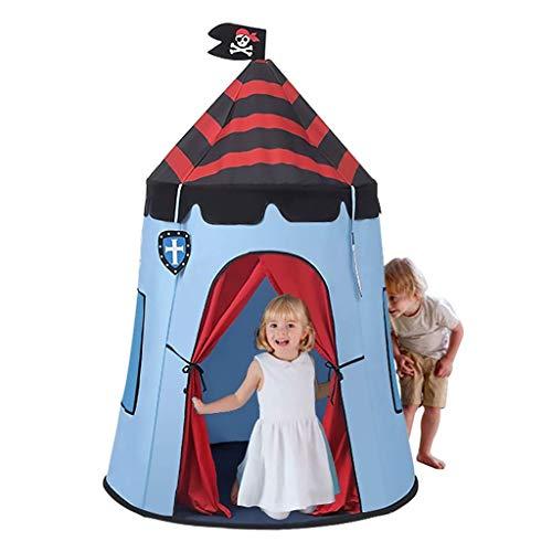 HIZLJJ Kids Tent Castle Pop Play Carpas Indoor Outdoor Great Game y Regalo de Juguete para niños Diversión