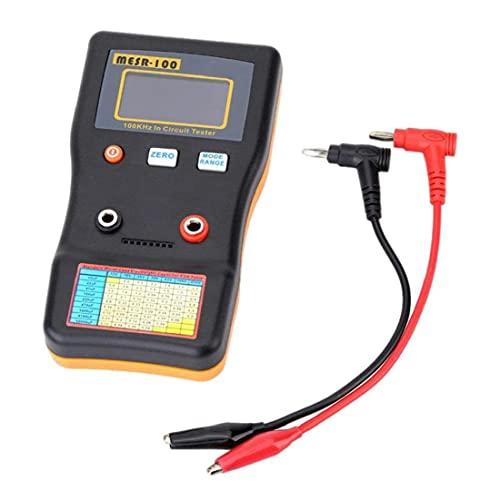Probador de resistencia del condensador MESR-100 ESR OHM METER Circuito de capacitancia Tesor de medición (sin batería) Precisión