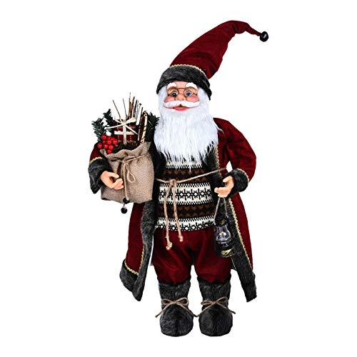 yingmu Weihnachts-Weihnachtsmann, Traditioneller Deluxe-Vater, Innovativer Exquisiter Gnom, Weihnachtsschmuck-Baumschmuck-Kindergeschenk, Für Garten, Dach, Haus Oder Einkaufszentrum