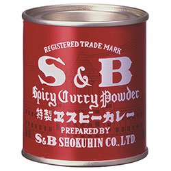 エスビー食品 S&B 赤缶カレー粉 37g缶×10個入×(2ケース)