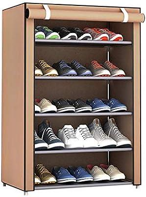 shuaishuang573 Zapatero Organizador de Zapatos de Almacenamiento Torre gabinete con Cubierta de Tela no Tejida: Amazon.es: Hogar