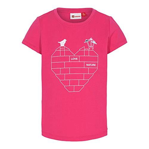 LEGO Wear Girls Classic T-Shirt Camiseta, 478, 4 años para Niñas