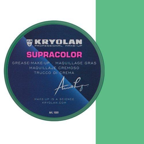 KRYOLAN Theaterschminke Supracolor Fettschminke Creme Make up 8 ml Farbe Mittelgrün GR42