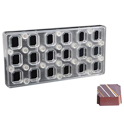 Read About Rectangle DIY Chocolate Transfer Sheet Custom Molds Magnetic Polycarbonate Mould